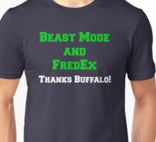 Beast Mode and FredEx Unisex T-Shirt
