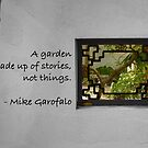 What is a Garden? by Marilyn Cornwell