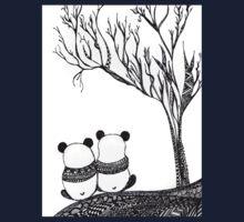 Panda. Love. Pandas One Piece - Short Sleeve