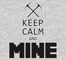 Minecraft - Keep Calm and Mine One Piece - Long Sleeve