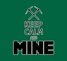 Minecraft - Keep Calm and Mine T-Shirt