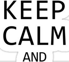 Minecraft - Keep Calm and Mine Sticker