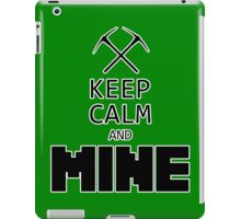 Minecraft - Keep Calm and Mine iPad Case/Skin