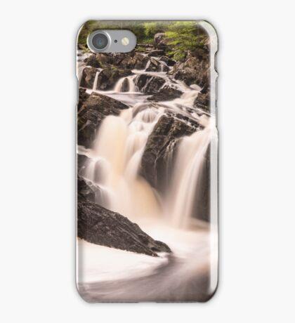 Rogie Falls, Nr Inverness, Scotland iPhone Case/Skin
