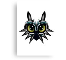 Toothless Mask 2 Canvas Print