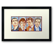 The Four Doctors Framed Print