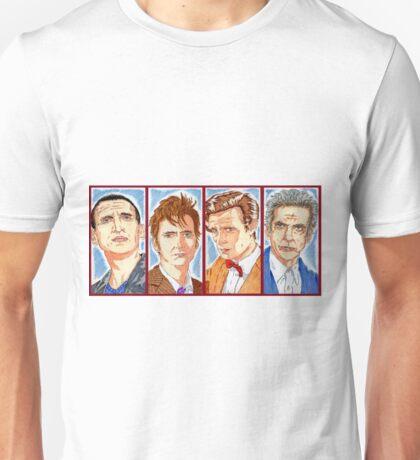 The Four Doctors Unisex T-Shirt