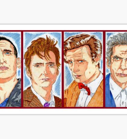 The Four Doctors Sticker
