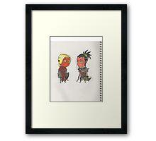 Chibi Muggs Framed Print