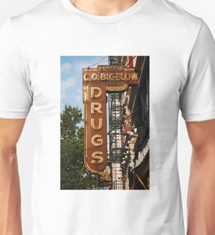 New York City photography, vintage sign photography, travel photography, NYC photography Unisex T-Shirt