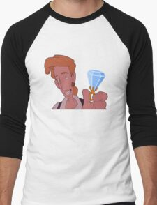 Elaine, wanna marry me?? (Monkey Island 3) Men's Baseball ¾ T-Shirt
