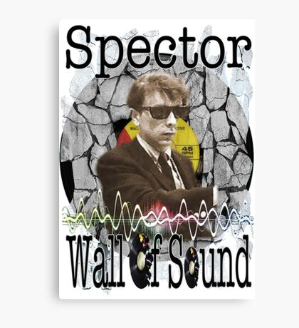 Spector Wall of Sound Canvas Print