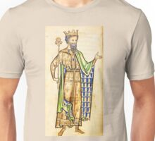 Medieval Edward I king of England illustration Unisex T-Shirt
