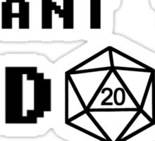 I want the D20 Sticker