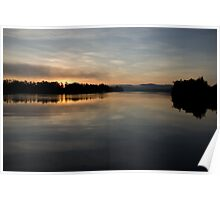'Softly' ~ A Winter Dawn over Johnstone River, Innisfail FNQ Poster