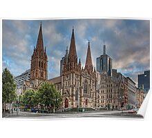 Melbourne • Victoria • Australia Poster