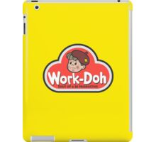 Work-Doh iPad Case/Skin