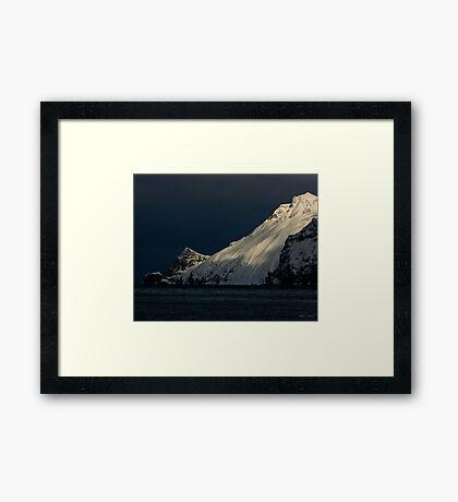 Storm Looming In Dutch Harbor - Alaska Framed Print