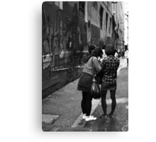 Is it straight? Canvas Print