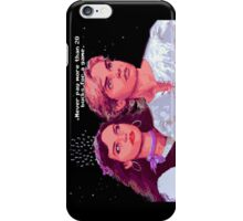 Guybrush and Elaine (final of Monkey Island 1) iPhone Case/Skin