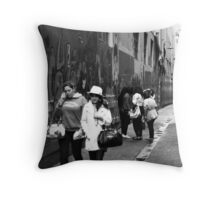 Group photo!!! Throw Pillow
