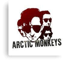 Arctic Monkeys Silhouette Canvas Print