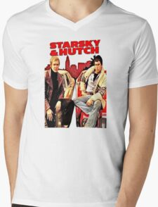 Starsky & Hutch Mens V-Neck T-Shirt