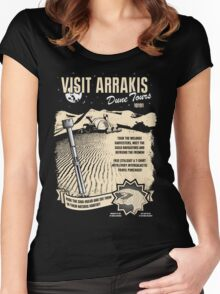 Visit Arrakis Women's Fitted Scoop T-Shirt