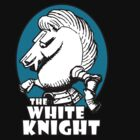 White Knight Logo in Teal by tartanphoenix