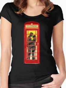One Romantic Night In London Women's Fitted Scoop T-Shirt