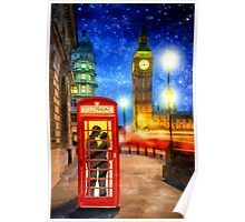 One Romantic Night In London Poster
