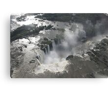 Aerial view of Iguazu Falls, Brazil Canvas Print