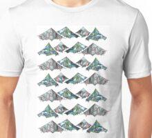 Geo Mountains Unisex T-Shirt