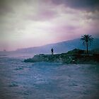 Alone in the storm by LaraZ