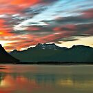 Ginevra lake sunrise by Antonio Zarli