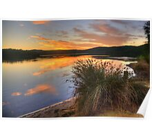 In A Rush - Narrabeen Lakes, Sydney - The HDR Experience Poster