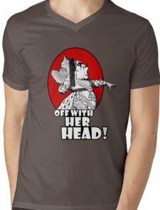 Off With Her Head Logo Mens V-Neck T-Shirt