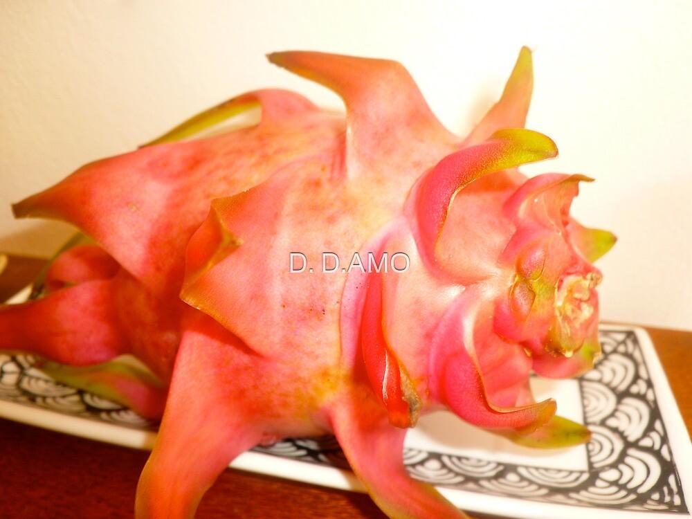 Pi PI Pitaya-  DRAGON FRUIT by D. D.AMO