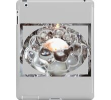 glass grapes in candle light iPad Case/Skin
