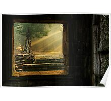Early Mornining Light - Ta Prohm Temple Poster