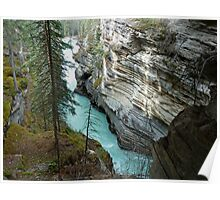 Athabasca Gorge-Canadian Rockies Poster