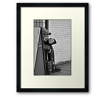 Life On the Streets Framed Print