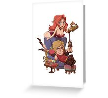Tyrion Lannister Illustrated Pin Up Greeting Card