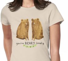 Beary Lovely Womens Fitted T-Shirt
