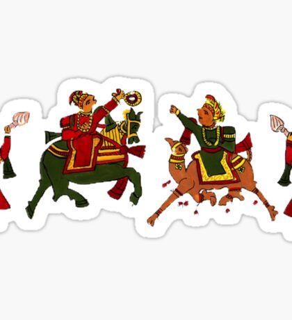 Congregation of Indian princess Sticker