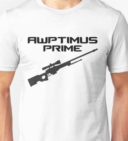 AWPtimus prime Unisex T-Shirt