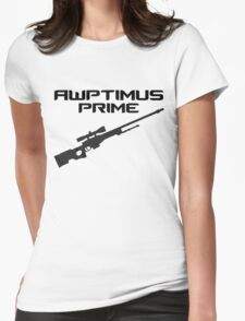 AWPtimus prime Womens Fitted T-Shirt