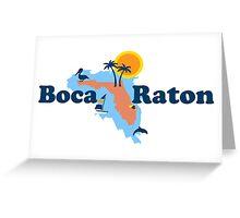 Boca Raton. Greeting Card