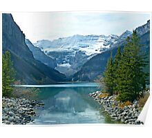 Lake Louise-Canadian Rockies Poster