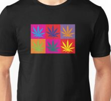 Marijuana Abstract Unisex T-Shirt